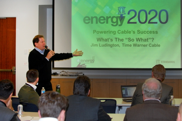 Jim Ludington, Time Warner Cable at the Energy 2020 Plenary Meeting in Herndon, VA
